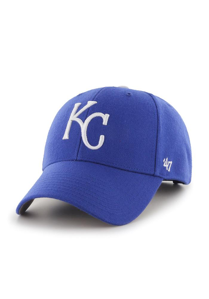 '47 Kansas City Royals MVP Adjustable Hat - Blue - Image 1