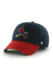 St Louis Cardinals 47 Navy Blue `47 Franchise Fitted Hat