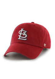 St Louis Cardinals 47 Clean Up Adjustable Hat - Red