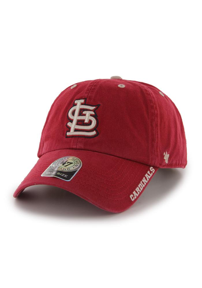 '47 St Louis Cardinals Ice Clean Up Adjustable Hat - Red - Image 1