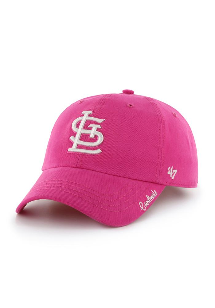 '47 St Louis Cardinals Pink Miata Clean Up Womens Adjustable Hat - Image 1