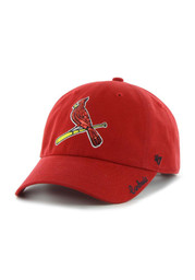 St Louis Cardinals Womens 47 Sparkle Adjustable - Red