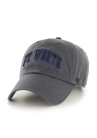 Dallas Ft Worth 47 Arched Adjustable Hat - Charcoal
