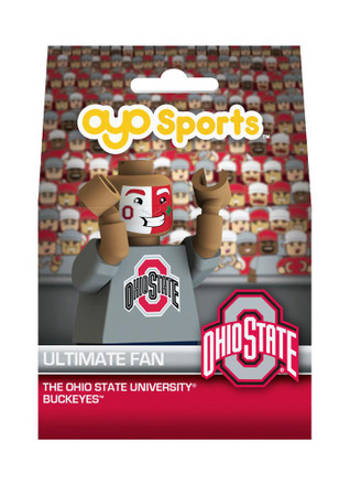 Ohio State Buckeyes Fan Face Collectible Player Oyo