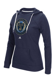 Philadelphia Union Womens Navy Blue Full Color Primary Hoodie