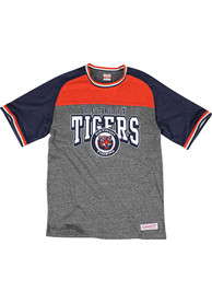 Mitchell and Ness Detroit Tigers Navy Blue No-Hitter Fashion Tee