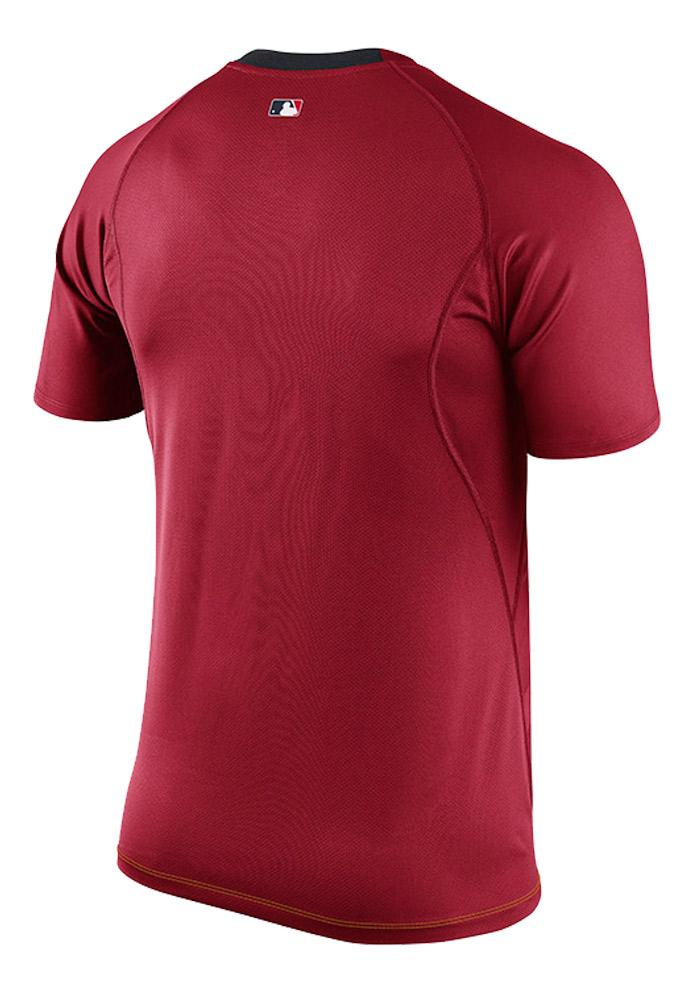 Nike Texas Rangers Red Speed Short Sleeve T Shirt - Image 3