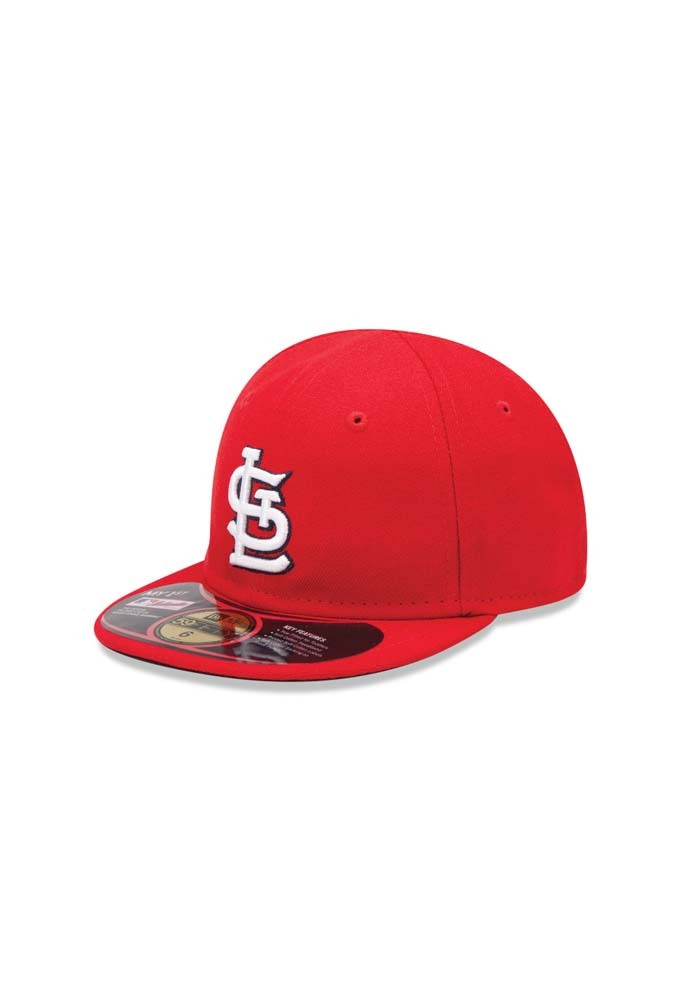 New Era St Louis Cardinals Red My 1st 5950 Kids Fitted Hat - Image 1