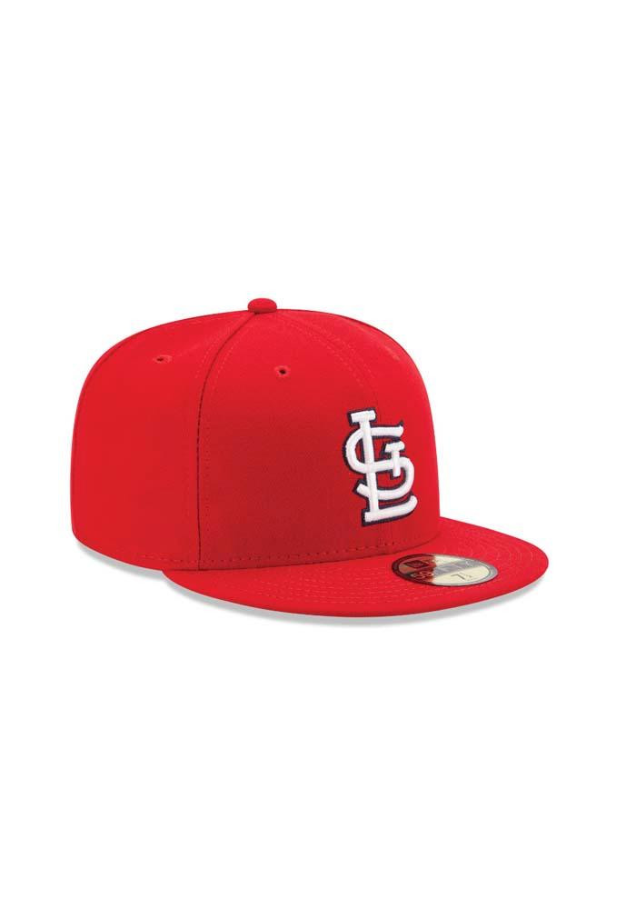 New Era St Louis Cardinals Mens Red Game AC 59FIFTY Fitted Hat - Image 2