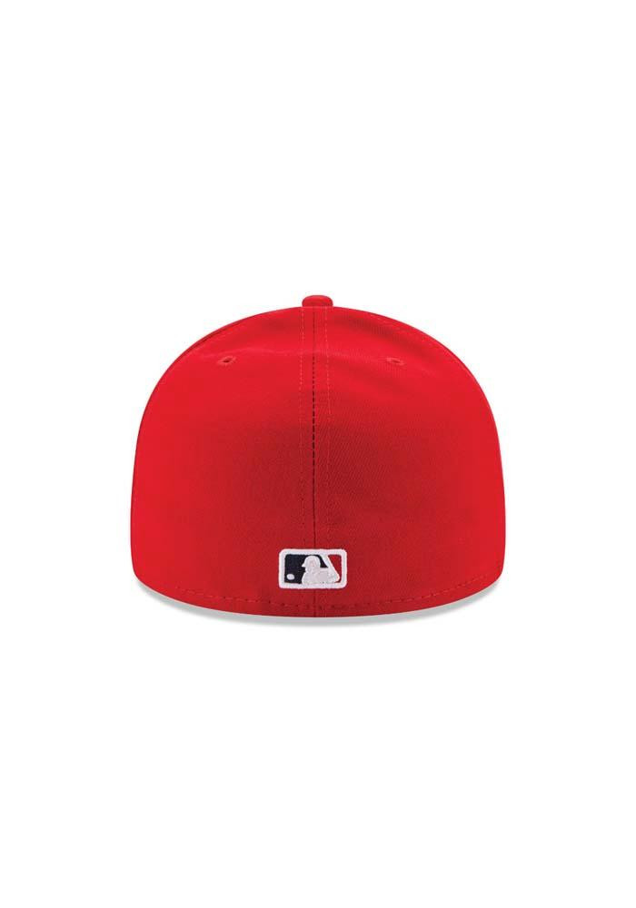 New Era St Louis Cardinals Mens Red Game AC 59FIFTY Fitted Hat - Image 5
