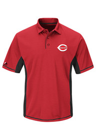 Cincinnati Reds Red Big and Tall Top of the Inning Polos Shirt