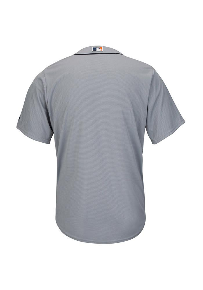 Detroit Tigers Mens Majestic Replica Cool Base Jersey Jersey - Grey - Image 3
