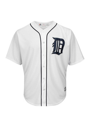 Detroit Tigers Mens Majestic Replica Cool Base Jersey Jersey