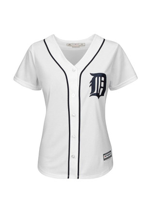 Detroit Tigers Womens Majestic Replica Cool Base Jersey Jersey