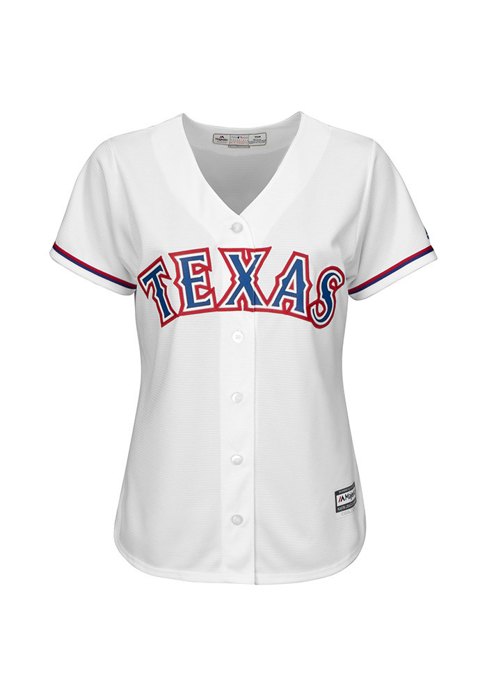 Texas Rangers Womens Majestic Replica Cool Base Jersey Jersey 4cf8c7607
