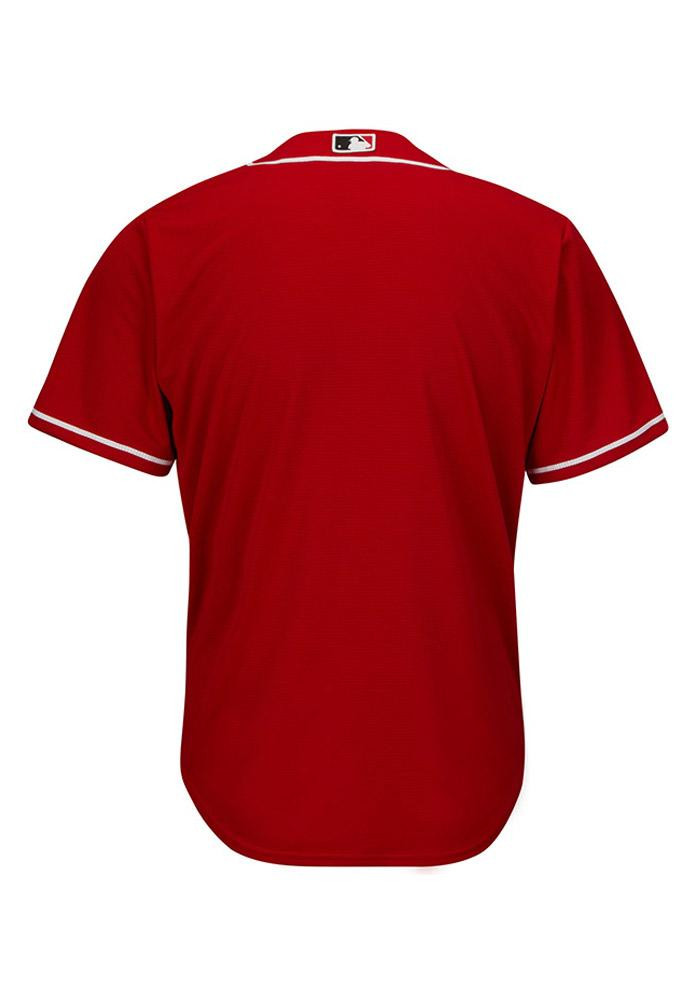 Cincinnati Reds Mens Majestic Replica Cool Base Jersey Jersey - Red - Image 3