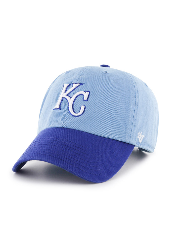 '47 Kansas City Royals Clean Up Adjustable Hat - Blue - Image 1