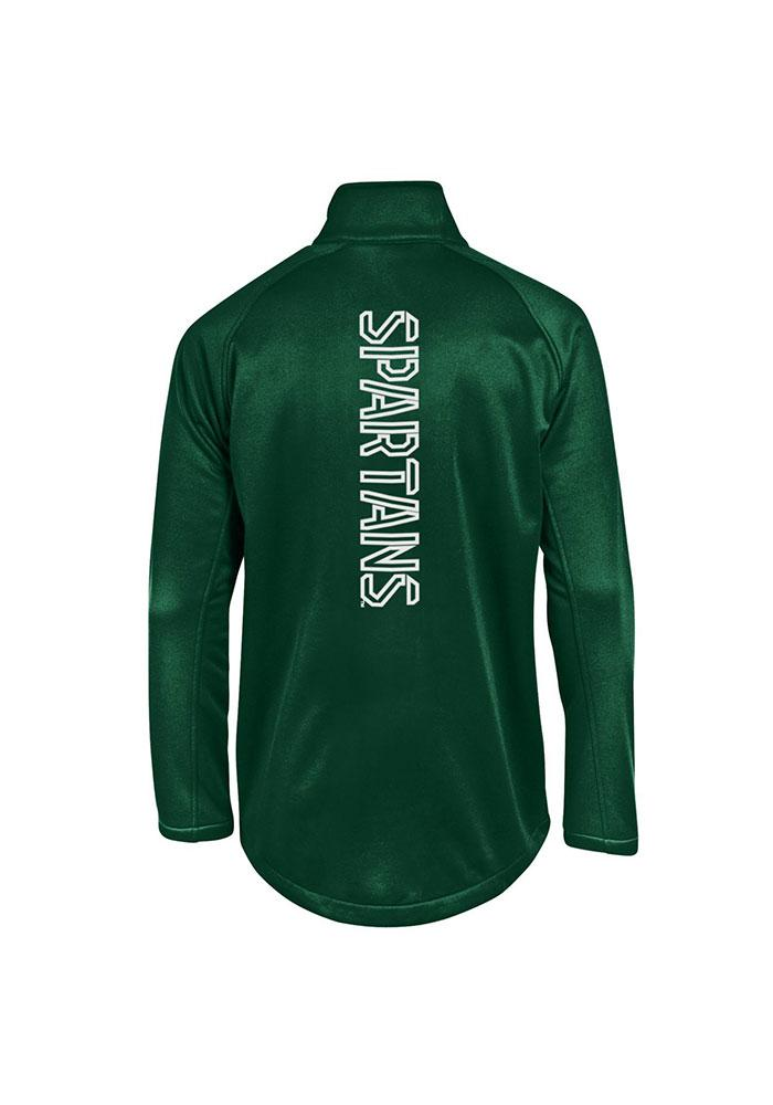 Under Armour Michigan State Spartans Mens Green Triad Light Weight Jacket - Image 2