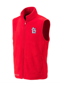 St Louis Cardinals Columbia Flanker Vest - Red