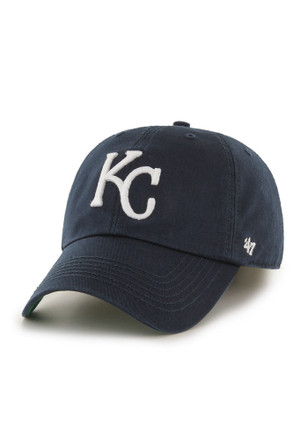 6662512badf Kansas City Royals  47 Navy Blue `47 Franchise Fitted Hat