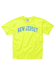 New Jersey Youth Yellow Neon Arch Tee