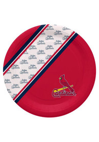 St Louis Cardinals 10 Inch 20 Pack Paper Plates