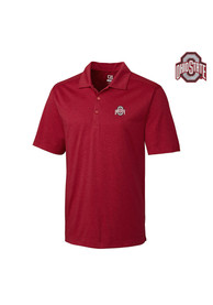 Ohio State Buckeyes Cutter and Buck Chelan Polo Shirt - Red