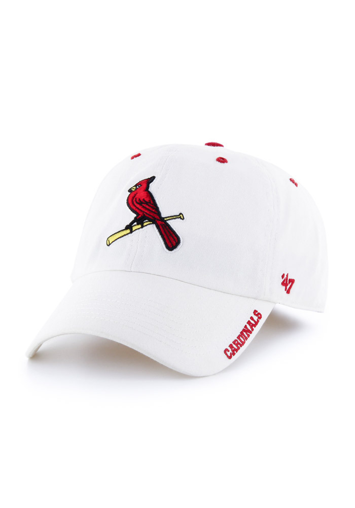 '47 St Louis Cardinals Ice Clean Up Adjustable Hat - White - Image 1