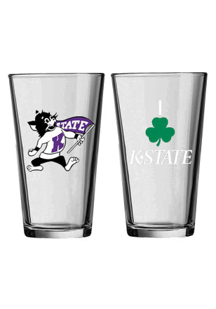 K-State Wildcats I Shamrock K-State Pint Glass