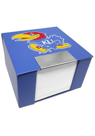 Kansas Jayhawks Leather Case Sticky Notes