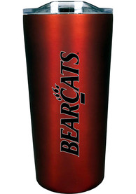 Cincinnati Bearcats Team Logo 18oz Soft Touch Stainless Steel Tumbler - Red