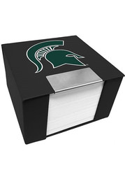 Michigan State Spartans Memo Cube Holder Sticky Notes