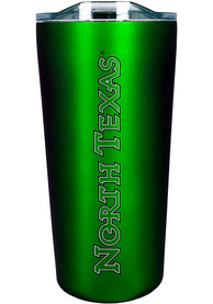 North Texas Mean Green Team Logo 18oz Soft Touch Stainless Steel Tumbler - Green
