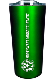 Northwest Missouri State Bearcats Team Logo 18oz Soft Touch Stainless Steel Tumbler - Green