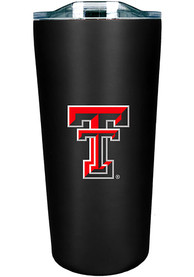 Texas Tech Red Raiders Team Logo 18oz Soft Touch Stainless Steel Tumbler - Black