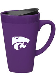 K-State Wildcats 16oz Soft Touch With Lid Mug