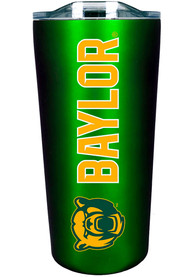 Baylor Bears Team Logo 18oz Soft Touch Stainless Steel Tumbler - Green
