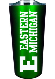 Eastern Michigan Eagles 18 oz Soft Touch Stainless Steel Tumbler - Green