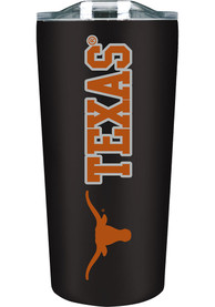 Texas Longhorns 18 oz Soft Touch Stainless Steel Tumbler - Black