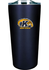 Kent State Golden Flashes 18 oz Soft Touch Stainless Steel Tumbler - Navy Blue