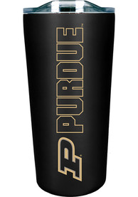 Purdue Boilermakers 18 oz Soft Touch Stainless Steel Tumbler - Black