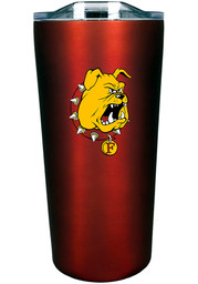 Ferris State Bulldogs 18 oz Soft Touch Stainless Steel Tumbler - Red