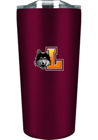 Loyola Ramblers 18 oz Soft Touch Stainless Steel Tumbler - Maroon