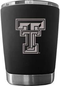 Texas Tech Red Raiders 12 oz Low Ball Stainless Steel Tumbler - Black