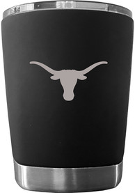 Texas Longhorns 12 oz Low Ball Stainless Steel Tumbler - Black