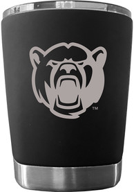 Baylor Bears 12 oz Low Ball Stainless Steel Tumbler - Black