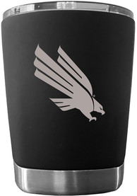 North Texas Mean Green 12 oz Low Ball Stainless Steel Tumbler - Black