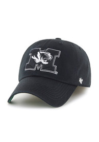Missouri Tigers 47 Black Blackout `47 Franchise Fitted Hat
