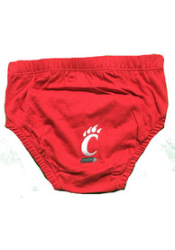 Cincinnati Bearcats Baby Red Logo Underwear