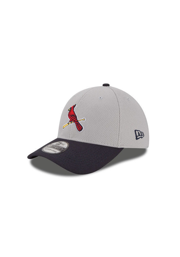 New Era St Louis Cardinals Mens Grey 2Tone Diamond Era Flex Hat - Image 1